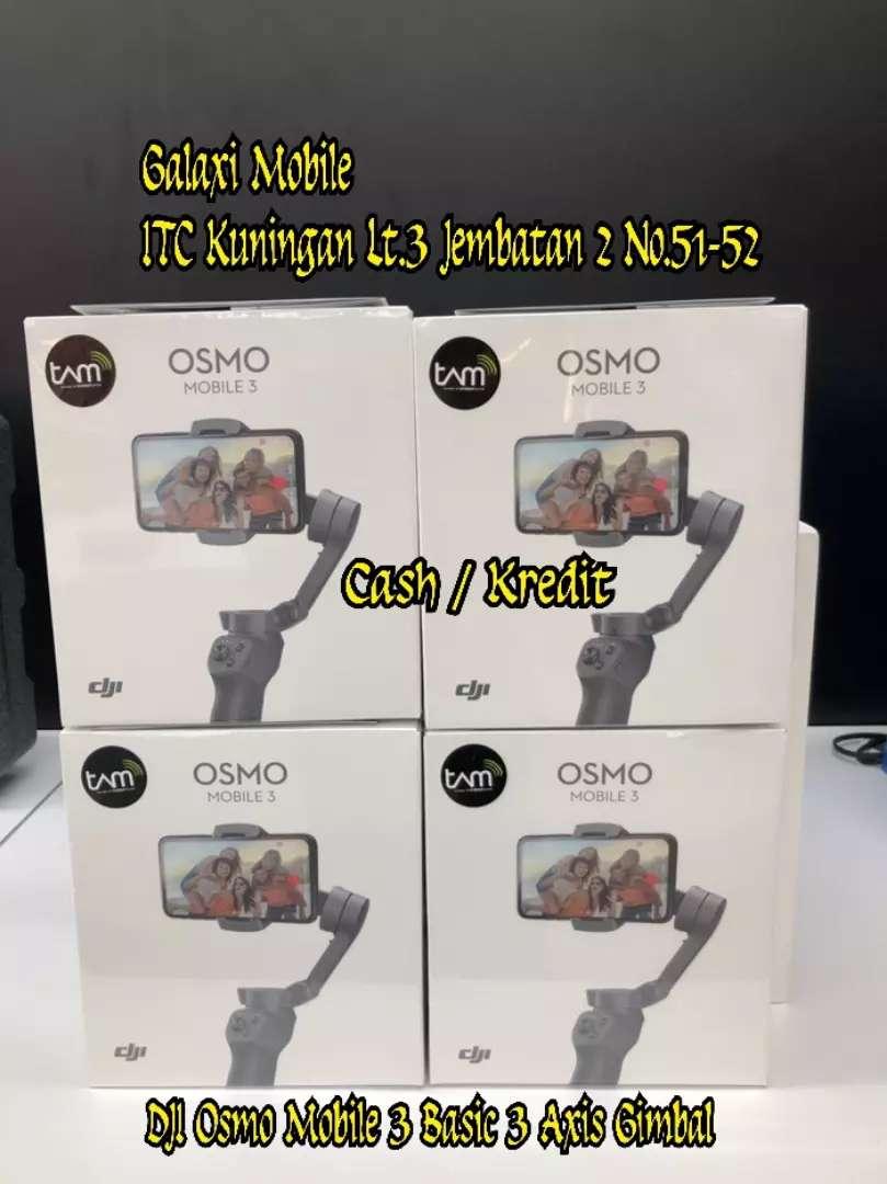 KREDIT TERPERCAYA - Osmo Mobile 3 Basic 3 Axis Gimbal Minat Call WA 0