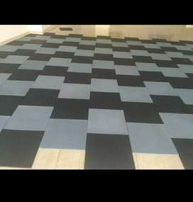 Gym rubber mattes