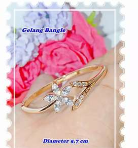 Xuping gelang bangle bunga