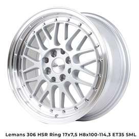 new LEMANS 306 HSR R17X75 H8X100-114,3 ET35 SML