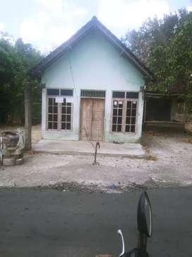 Tanah pekarangan bonus rumah