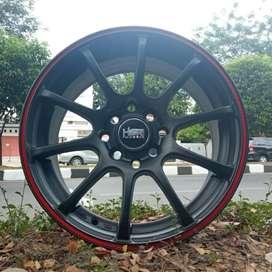 Velg Racing Ring 15 HSR Bisa Tukar Tambah Swift Vios Agya Ala Datsun
