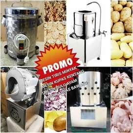 Mesin kupas bawang atau kentang sngat nyaman di gunakan