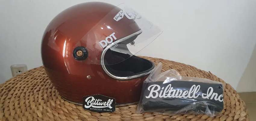 Biltwell Closeout Gringo Full Face Type S - Size XL 0