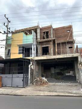 Ruko Strategis di Jl Galunggung Klojen Disewakan di Malang