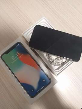 iphone X 256gb excellent condition with all kit