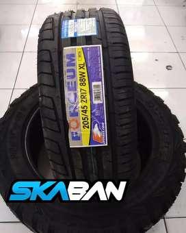 Jual Ban 205/45/R17 Forceum Free balancing dan angin nitrogen