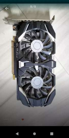 Msi 1050 ti Oc edition Graphics Card in Good condition used for Gaming