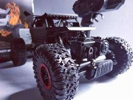 Mobil remot Offroad metal Alloy sudah 4WD