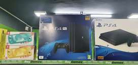 New and used ps4 pro 1TV with warranty