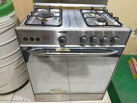 Care cooking range gas
