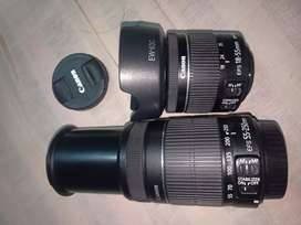 Canon.  18mm  _ 55mm 250mm lens for sell