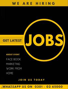Multiple online data entry Job is offering for Home base earner person