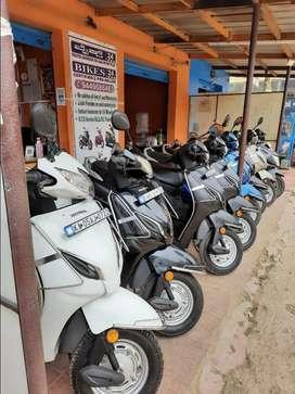 HONDA ACTIVA 5G 2018DEC EMI/LOAN provides on used Motorcycles