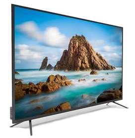 50 inches micro bezel Cornea android TV