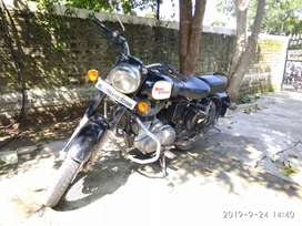 Royal Enfield Classic 350 black colour , model -Aug-2013