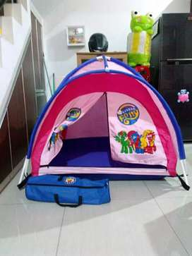 Tenda camping anak di rumah buat main