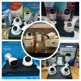 PAKET CAMERA CCTV 4 CHANNEL 4MP FULL HD EXMOR SONY