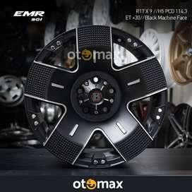 Velg Mobil EMR 901 Ring 17 Black Mechine Face