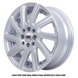 type velg CIAO 1281 HSR R16X65 H8X100-114,3 ET45 SMF