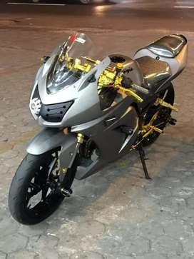 Ninja 250 karbu full modif