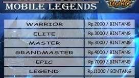 Jasa joki mobile legend murah