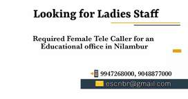 Looking for talented lady staff