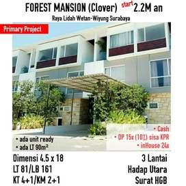 Forest mansion wiyung Surabaya Minimalis mewah cantik