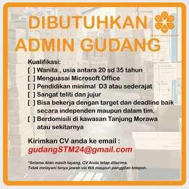 Lowongan Admin dan Telemarketing