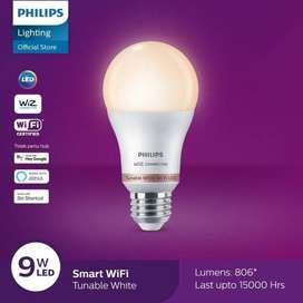 Lampu philips smart led wifi