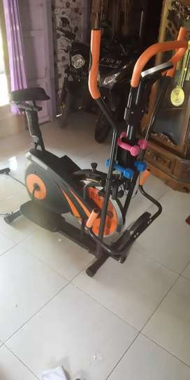 Best Sepeda fitnes Aerobic 5 fungsi big New orbitrack