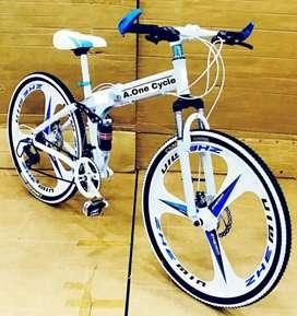 Folding cycle Makwheel 21 Shimano Gear
