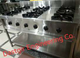 6-Burner Cooking Stand,