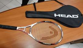 Tennis Racquet with cover - Brand Head