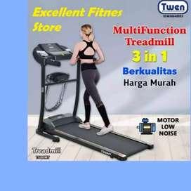 treadmill elektrik twen TM -746 II sepeda statis