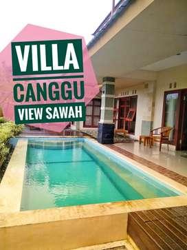 For Sale Villa Canggu Mengwi View Sawah Bali