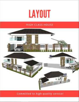 Layout Architecture and Design Interior