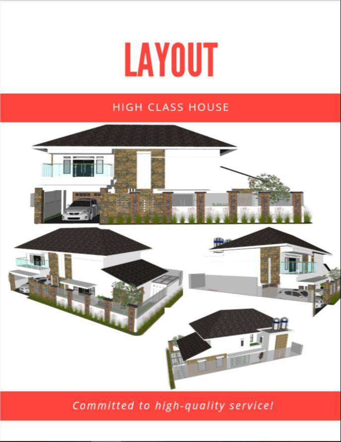 Layout Architecture and Design Interior 0