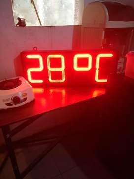 Digital clock outdoor