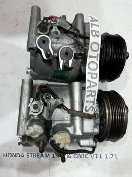 Kompresor AC Honda Stream & Civic VTiS 1.7 L