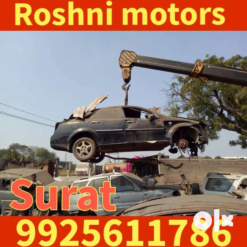 Surat Roshni motrs We Sell Genuine Used Four Wheeler Spare Parts