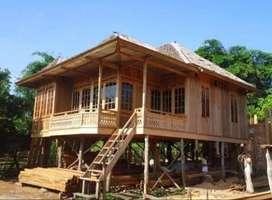 Villa Kayu Knockdown Free Ongkir