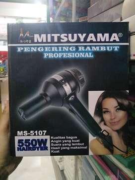 freeantar pengering rambut/hairdryer mitsuyama ms-5107 kualitas Oke
