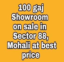 100 gaj Showroom on sale in Sector 88, Mohali at best price