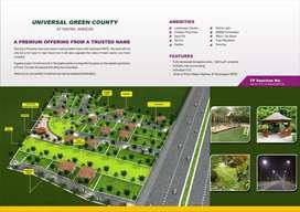 N A plot with water, road, light, landscape garden, gazebo,sandpit etc