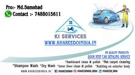 Car Dry Cleaning And Polishing