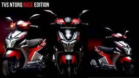 NEW TVS NTORQ RACE MODEL FOR MUMBAI