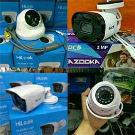 Paket camera cctv full Hd 2mp dan harga terjangkau