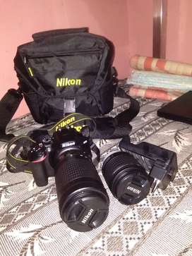 DSLR NIKON D3500 FOR SALE IN GOOD CONDITION
