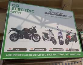 Battery Operated E-Bikes & Scooters